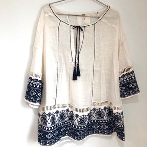 Free People Embroidered Tunic/ Dress
